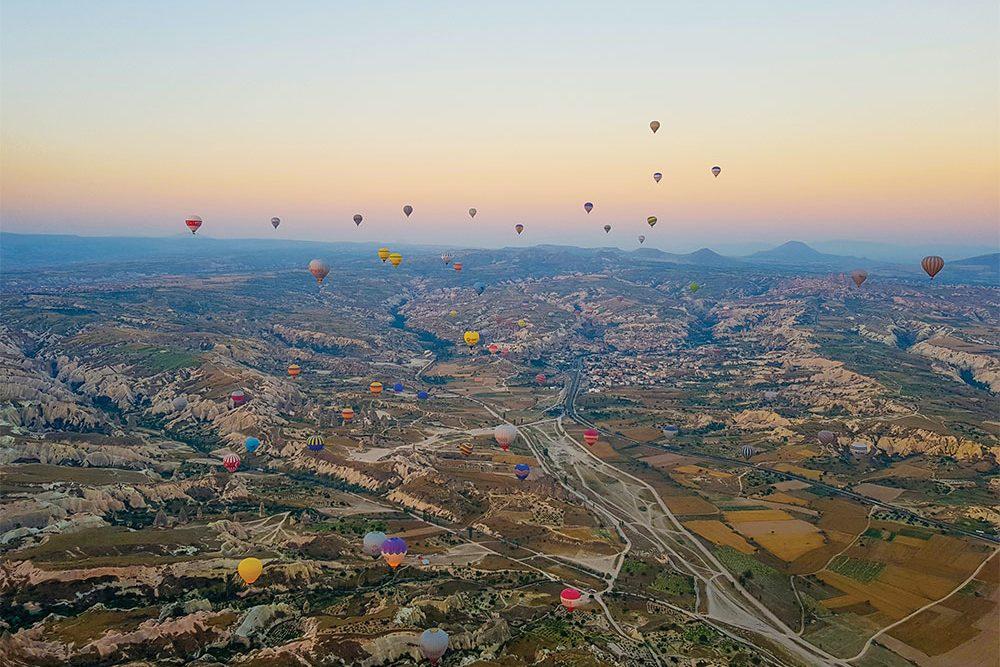 Cappadocia Sunrise hot air balloon